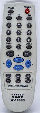 Kit 20un Controle Remoto  Parabolica ELSYS- REF:1000S