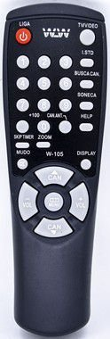 Kit 20un Controle remoto  TV SAMSUNG Embal:100pcs REF:105