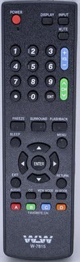 DUPLICADO - CONTROLE REMOTE LCD SHARP   7815