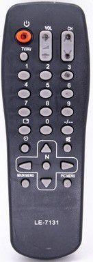 Kit 10un CONTROLE REMOTO TV REF:1-LE-7131
