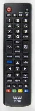 Kit 10un Controle Remoto P/ Tv Smart Lg WLW-7027