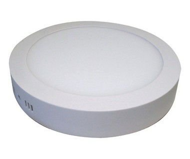 Kit 14un Plafon Painel LED sobrepor Redondo 25w Branco Frio