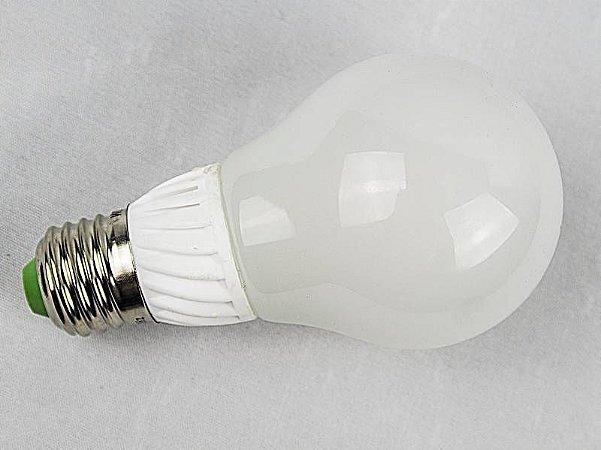 LAMPADA BULBO LED Vidro 360°IP57 Prova d`agua 12w Branco Quente