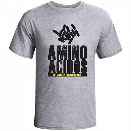 Camiseta Aminoacidos de Cadeia Ramificada