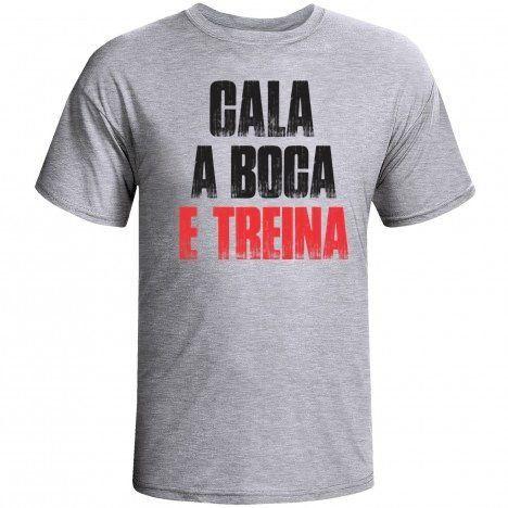 Camiseta Cala Boca e Treina