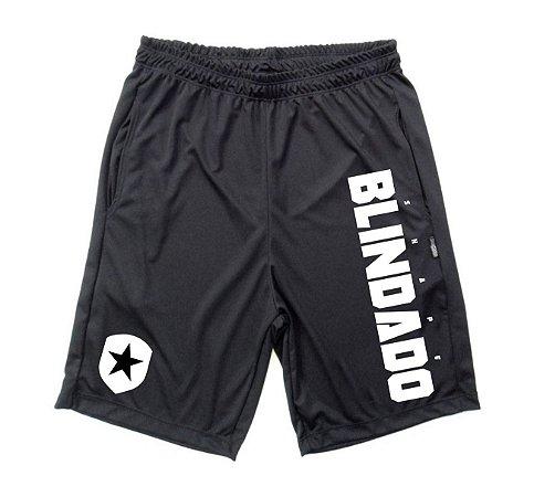 Bermuda Dry Fit Blindado and Shield Preta
