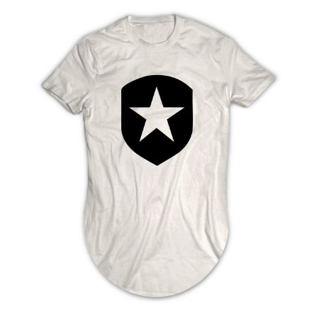 Camiseta Longline Shield
