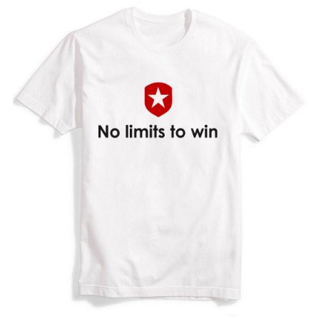 Camiseta No Limits To Win