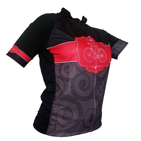 Camisa Ciclismo Feminina