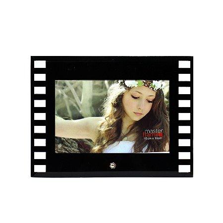 Porta Retrato de Vidro Filme Horizontal 10x15