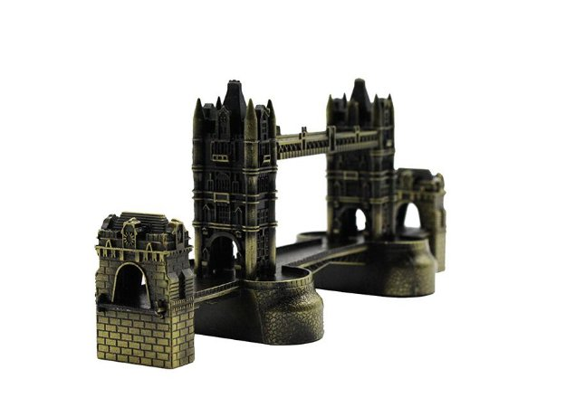 Miniatura Ponte Tower Bridge Londres Inglaterra 20cm