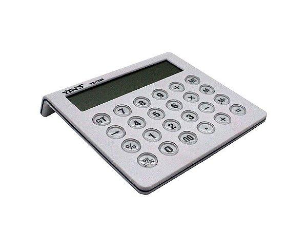 Calculadora de Mesa 12 DIG. Branca