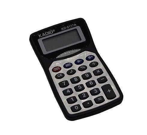 Calculadora Preta e Prata