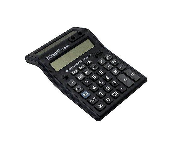Calculadora de Mesa 12 DIG. Duplo Visor