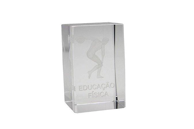 Enfeite de Vidro Educação Física