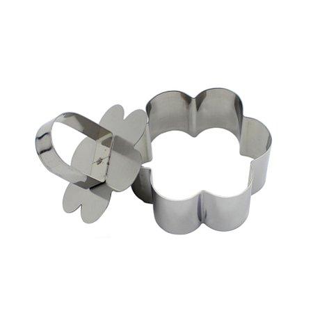 Mini Forma Modeladora para Bolos - aço Inox
