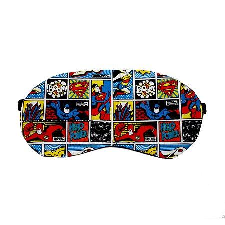 Máscara de Dormir Personagens DC Comics