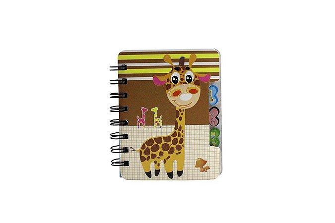 Bloco de Notas Girafa