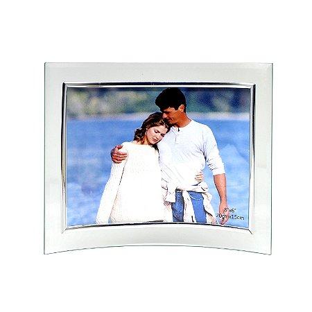 Porta Retrato de Vidro Curvo 20x15