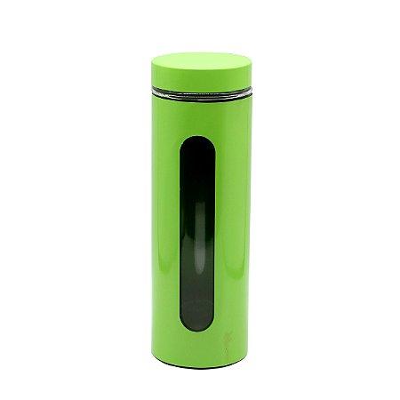 Porta Mantimento Inox Verde 1,8L
