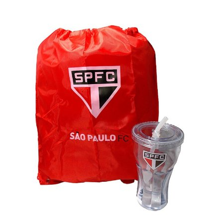 Kit Copo e Mochila São Paulo