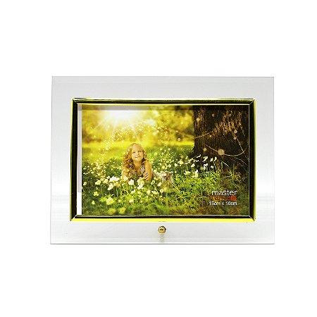 Porta Retrato de Vidro Horizontal 10x15