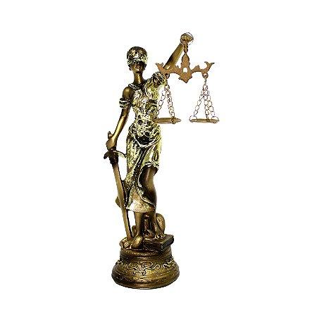 Resina Dama da Justiça QMH218056-21
