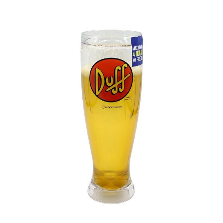 Copo Tulipa Chopp Duff 450ml