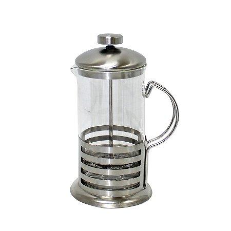 Cafeteira Francesa Inox 600ml