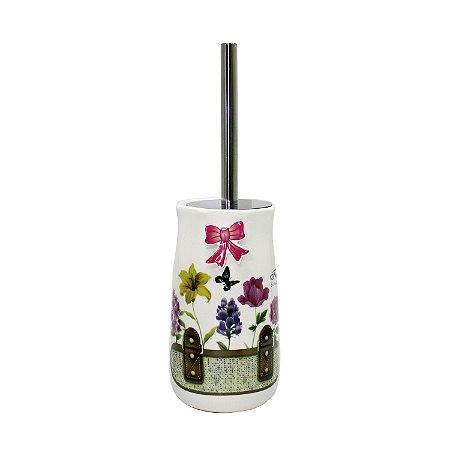 Porta Escova Sanitária Cerâmica