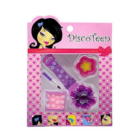 Estojo de Maquiagem Infantil Disco Teen HB86503