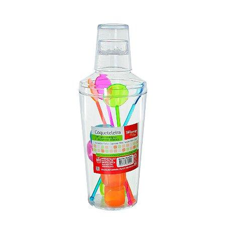 Coqueteleira de Plástico com Gelo 500ml