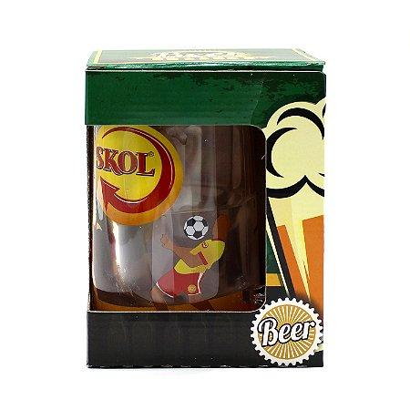 Caneca Gel Congelante Beer - Skol 460 ml