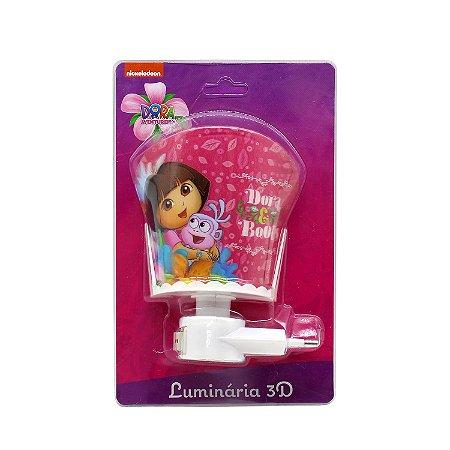 Luminária 3D Dora Aventureira