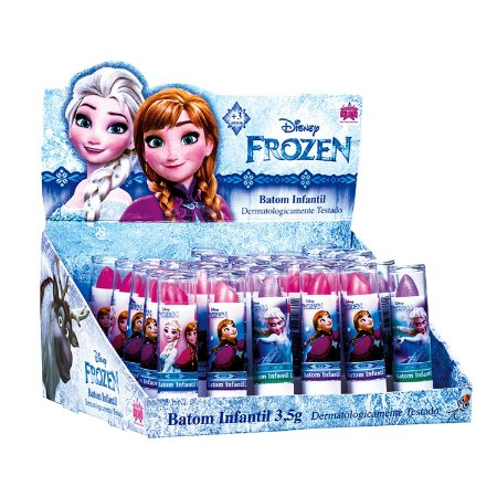 Batom Infantil Frozen - 1 Unidade