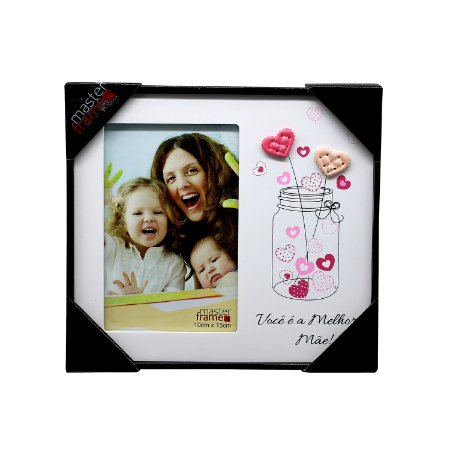"""Porta Retrato """"Você é a Melhor Mãe"""""""