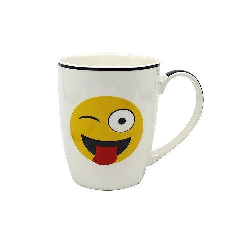 Caneca Porcelana Emoji