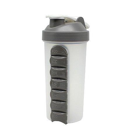 Shaker Porta Capsulas Plástico 600ml