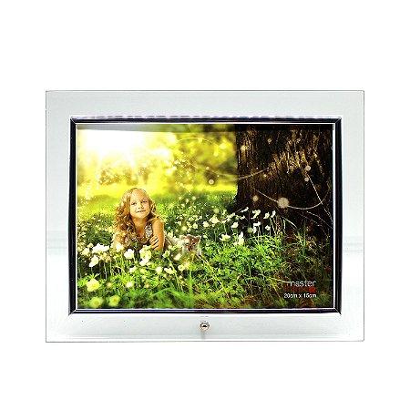 Porta Retrato de Vidro Horizontal 15x20