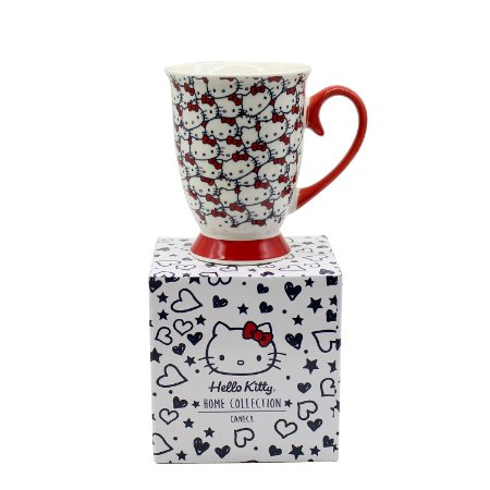 Caneca de Porcelana Hello Kitty Classical Faces 300ml