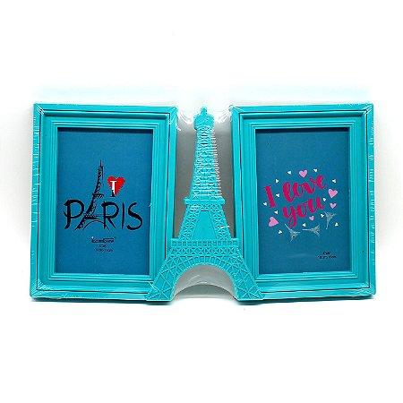 Porta Retrato de Plástico Torre Eiffel