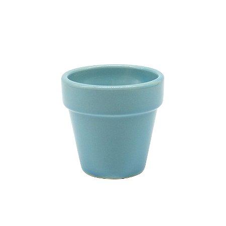 Vasinho de Cerâmica Azul