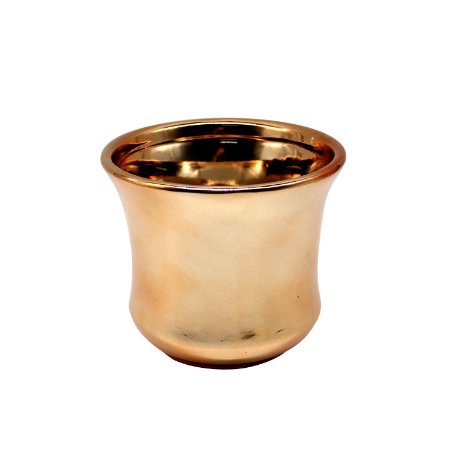 Vaso de Cerâmica Bolonha Bronze