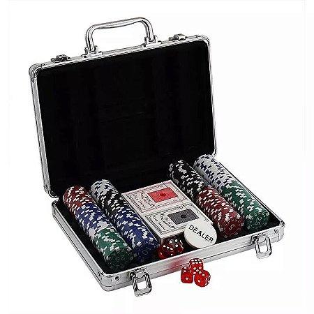 Maleta Poker 200 Fichas