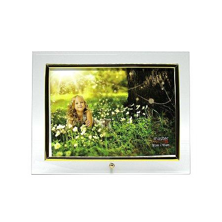 Porta Retrato de Vidro Horizontal 13x18