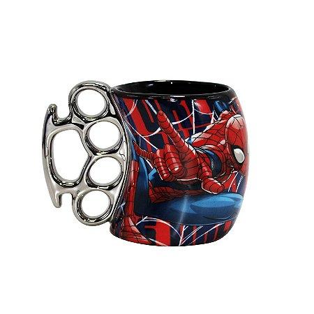 Caneca Soco Inglês Spider Man 350ml