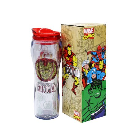 Copo Alto Iron Man 400ml