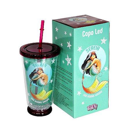 Copo Led Sereia - cod. LD-61