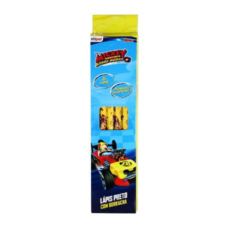 Caixa c/ 6 Lápis Mickey