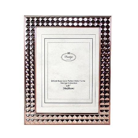 Porta Retrato em Aço Diamond 15x20